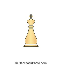 Chess king computer symbol