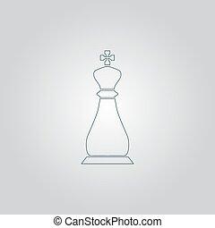chess king icon