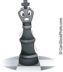 Chess King Mascot