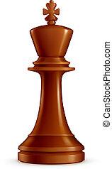 Chess King, vector