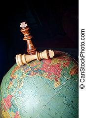 Chess Kings Globe