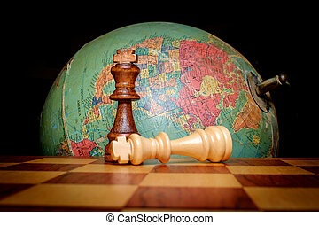 Chess Kings Globe