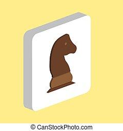 Chess knight computer symbol