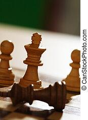 Chess match - Winning the chess battle