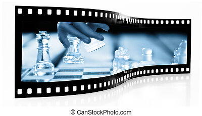 Chess Move Film Strip