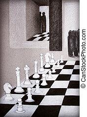 Chess Move Illustration