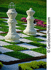 Chess of chrysanthemums 2