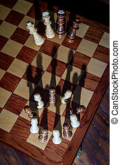 Chess Pawn Shadow Crown