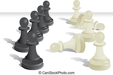 Chess pawn vector  - Chess pawn vector