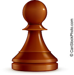 Chess Pawn, vector