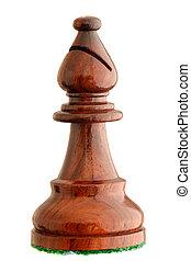 Chess piece - black bishop