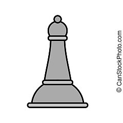 chess piece isolated icon