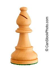 Chess piece - white bishop