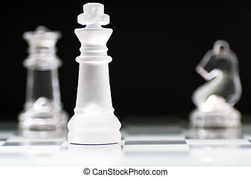 Chess Pieces - Glass Chess pieces