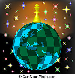 chess planet black