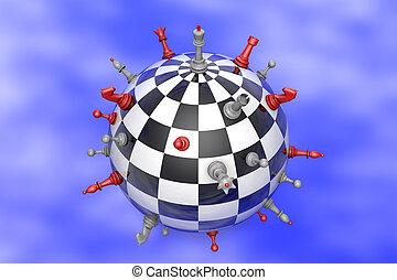Chess Planet (political balance).