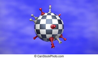 Chess Planet - This metaphor (political balance) .The video...