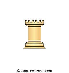 Chess Rook computer symbol