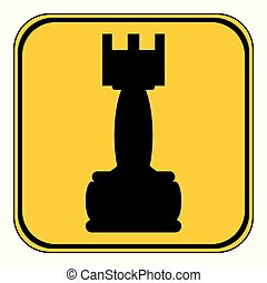Chess rook icon.