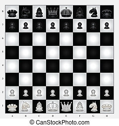 Chess Set Collection. Useful As Icon, Illustration And...