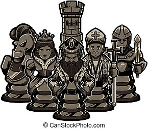 Chess Team Black