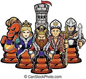 Chess Team Concept