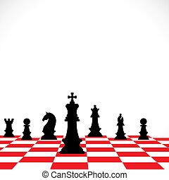chess teamwork concept