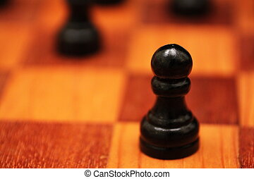 Chessboard Close Up