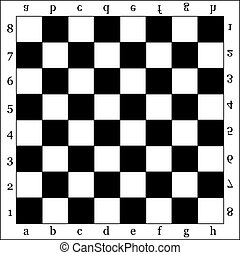 chessboard - empty chess board, backgrounds, vector...