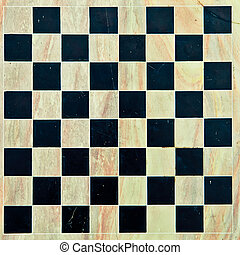 Chessboard - Marble chessboard as a detailed background in...