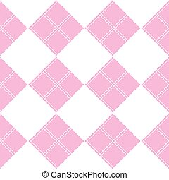 Chessboard Pink Background