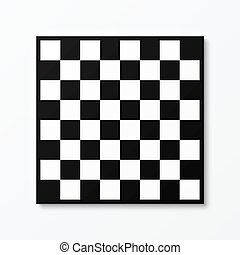 Chessboard vector illustration