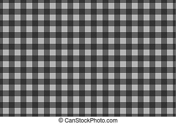 Chessboard vector pattern - grey background