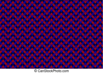Chessboard vector pattern - color background