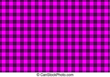 Chessboard vector pattern - purple background
