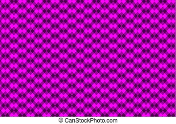 Chessboard vector pattern - violet background