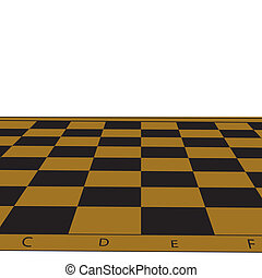 Chessboard.Vector illustration