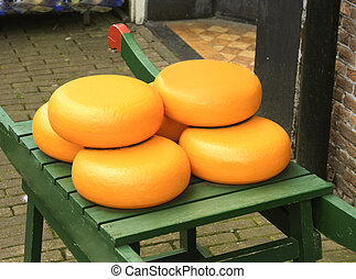 chesse market in Holland