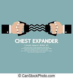 Chest Expander Fitness Equipment.