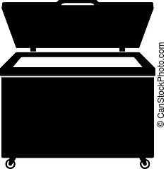 Chest freezer icon