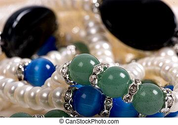 Chest full of jewelry treasures