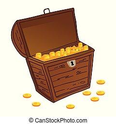 Chest of treasure