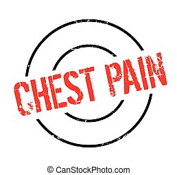 Chest Pain rubber stamp. Grunge design with dust scratches. Effects can be easily removed for a clean, crisp look. Color is easily changed.