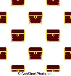Chest pattern flat