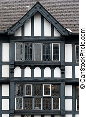 CHESTER, moyen-âge,  architecture, angleterre