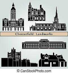 chesterfield, señales, monumentos