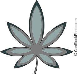 Chestnut leaf icon monochrome