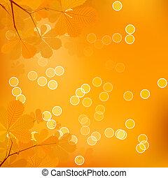 Chestnut Leaves of Autumn