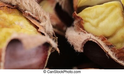 Chestnuts baked