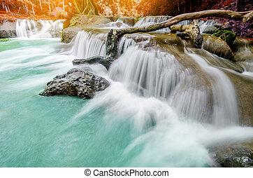 chet, sao, noi, waterfall.